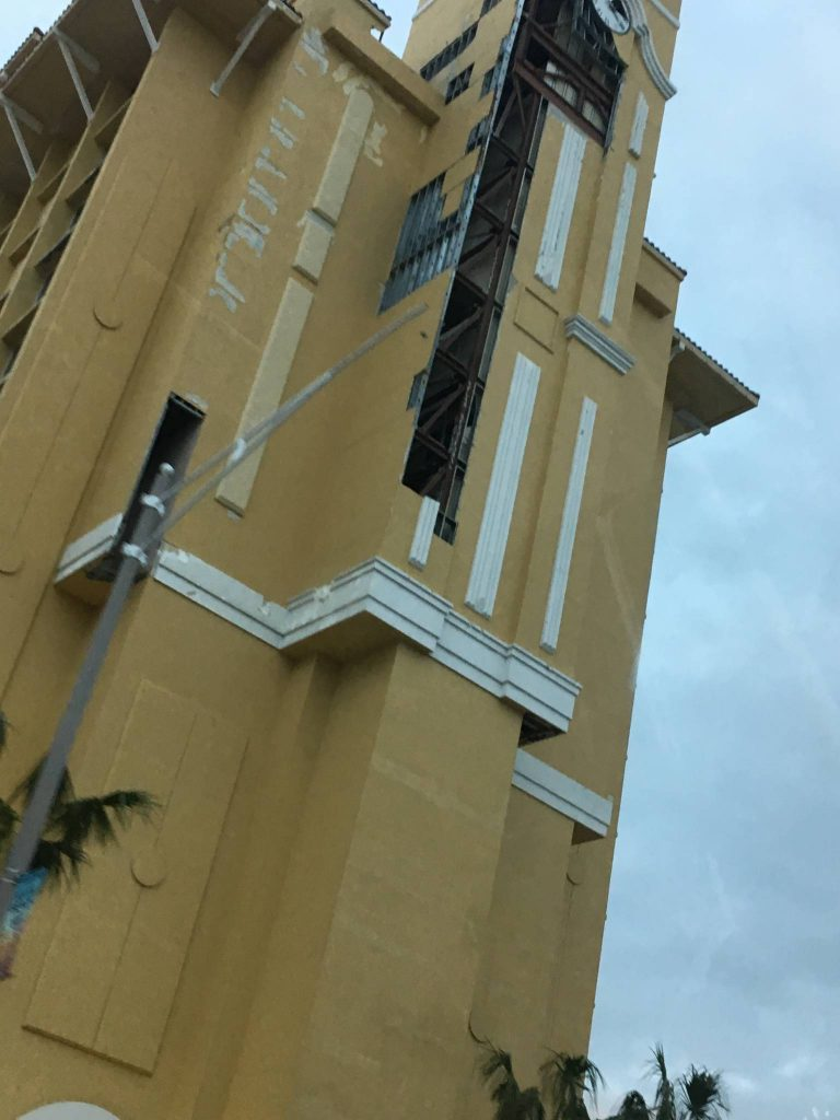 Plaza Resort after Hurricane Matthew