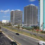 Belair Condominium. View East