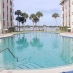 Riverside Condominium. Main pool