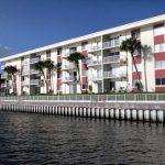 Riverside Condominium. View From River.